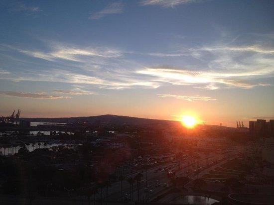 Hyatt Regency Long Beach: View from the window