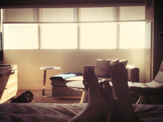 Hyatt Regency Long Beach: View from the bed