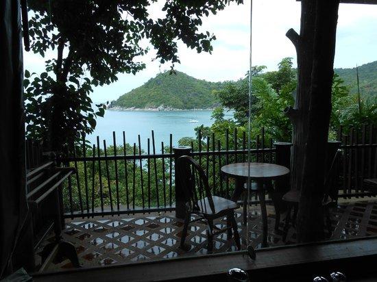 Panviman Resort - Koh Pha Ngan: Vue sur la baie