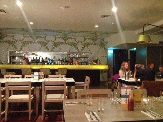 ely gastro bar: The new decor