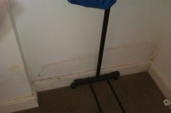 Winelodge Suites: damp or mould , either way not nice n right next to the bed