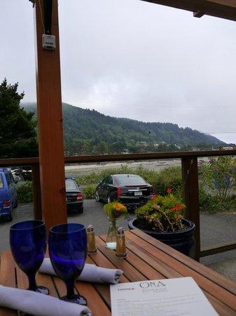 Ona Restaurant and Lounge : Blick auf die Bucht