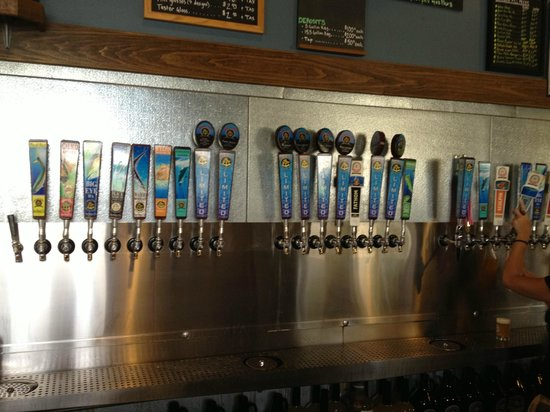 Ballast Point Brewing & Spirits: Tap room