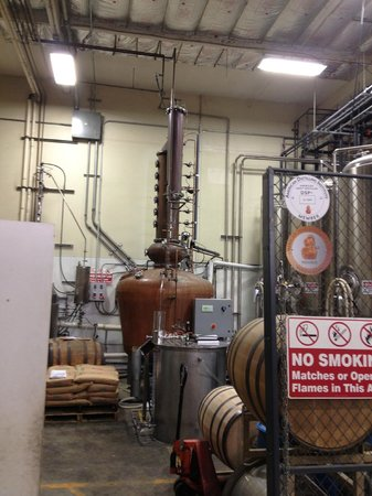 Ballast Point Brewing & Spirits: Rum still