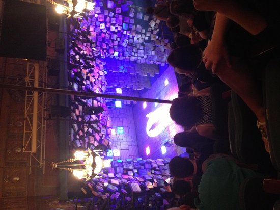 Matilda The Musical: Bad pic from tippy top row