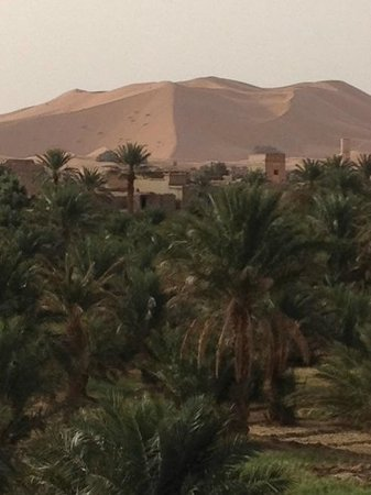 Riad Nezha : view from room