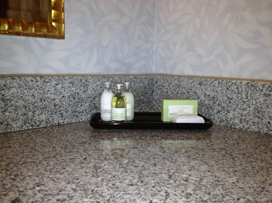 Waterfront Place Hotel: Bathrooom supplies