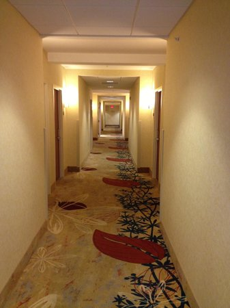 Waterfront Place Hotel: Hallway to Room