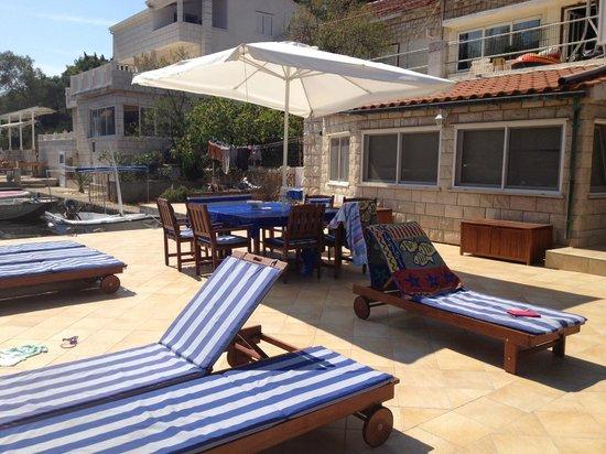 Korcula Waterfront Accommodation: The sun terrace