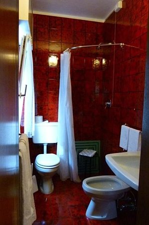 Hotel Daino: Bathroom