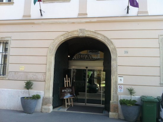 Buda Castle Fashion Hotel: Ingresso