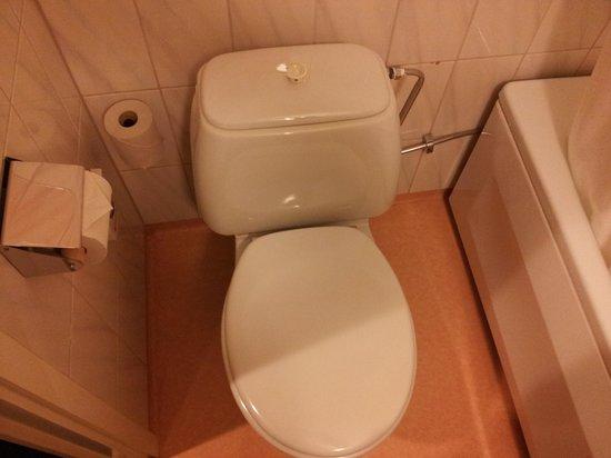 Alexandra Hotel: Toaletten