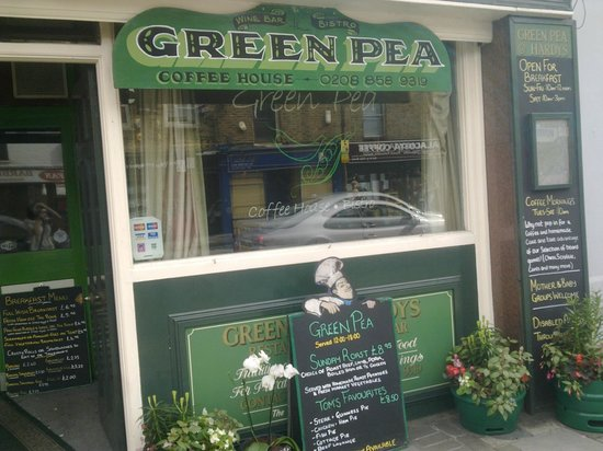Green Pea - best pub food ever!