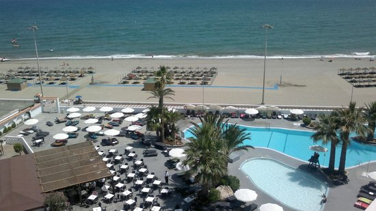 Hotel Roc Golf Trinidad: Vista desde la habitación 7 planta