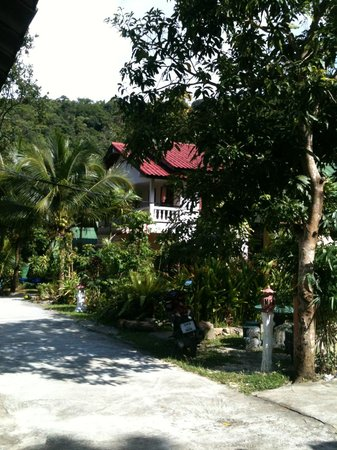 Anawin Bungalows : A view from the restaurant