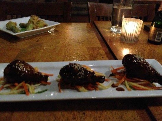 Leroy's Kitchen + Lounge: Chinese chicken lollipops