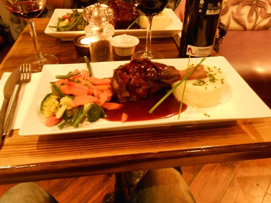 The Quay Street Kitchen : Lammkeule