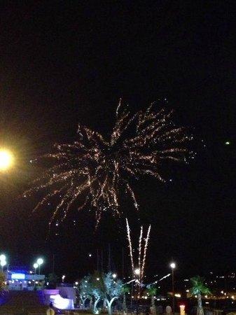 Hotel Le Revest : Fireworks June 24, 2013
