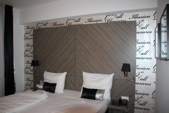 The Hotel 1060 Vienna: Letto