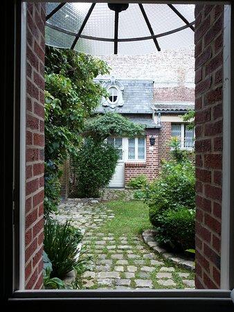 Villa des capucins: vista giardino