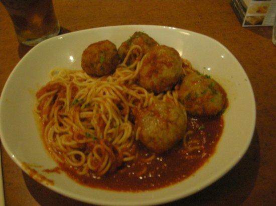 The Olive Garden: Espaguetis con albondigas de Haggis