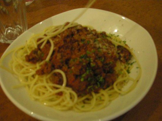 The Olive Garden: Espaguetis boloñesa