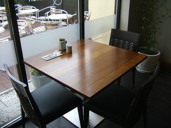 Salt Bar & Kitchen: Table in the window