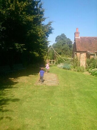 Chiltern Open Air Museum: great for the kids to run around in!