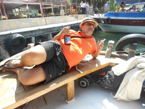 Pioneer Travel: Atti having fun!