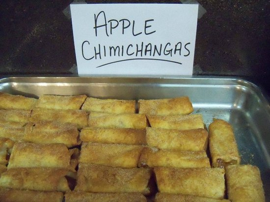 Santa Fe Grill and Bar: Apple Chimichanga