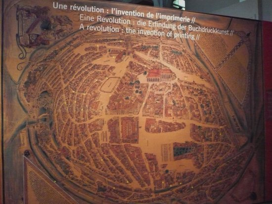 History Museum: Gutenberg printing