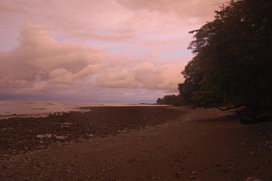 Dusk on the beach at Ojo del Mar