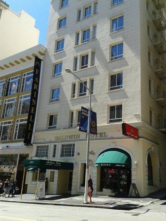 Baldwin Hotel: Fachada hotel
