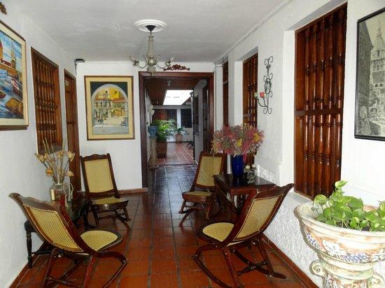 Hotel Casa Baluarte : espacios del hotel