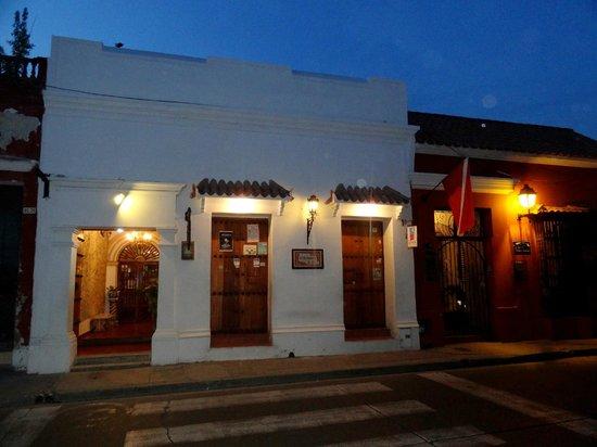 Hotel Casa Baluarte : frente del hotel