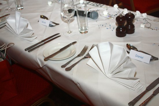 Antoinette Hotel Wimbledon: our top table