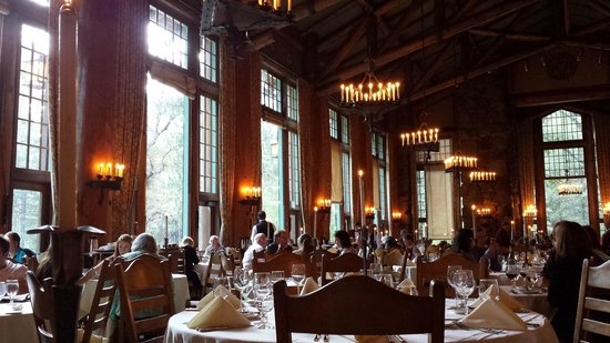 the ahwahnee dining hall - picture of the majestic yosemite dining