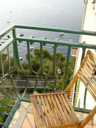 Hotel La Perla : Panorama dal terrazzino (giorno)