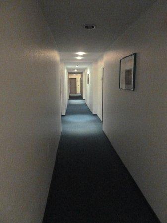 Hotel Lemp: corridor (with lights on!)
