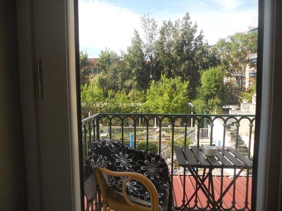 Hotel Capri: balcony view