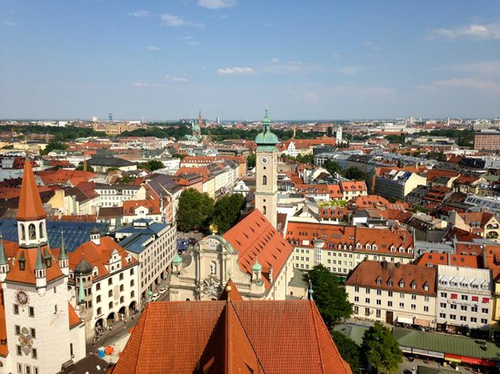 View from top of St. Peter's Church