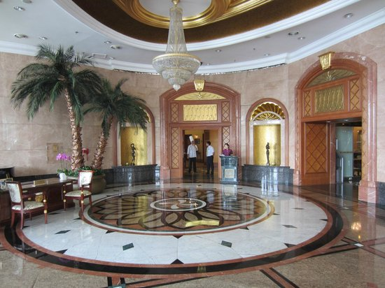 Wei Hai Golden Bay Hotel: lobby