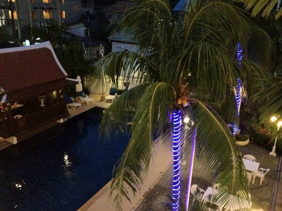 Villa Atchara : Eclairage de nuit