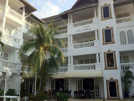 Villa Atchara : vue générale de l hôtel