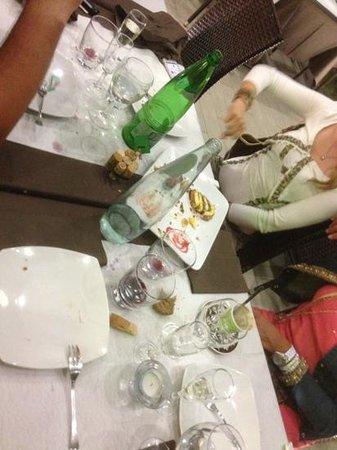 Il Giardino Del Pane : abbiamo ripulito tutto!!! alla faccia di chi....... tutto buono!!!  da provare. !!!