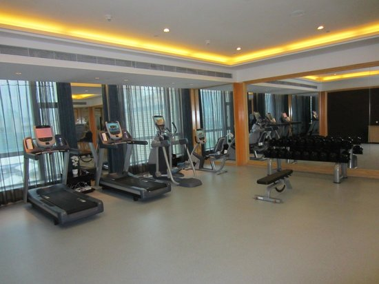 Crowne Plaza Lanzhou : fitness center