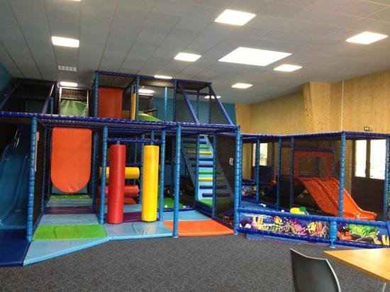 La Croix du Vieux Pont: new indoor soft play area (€3.90/hour)