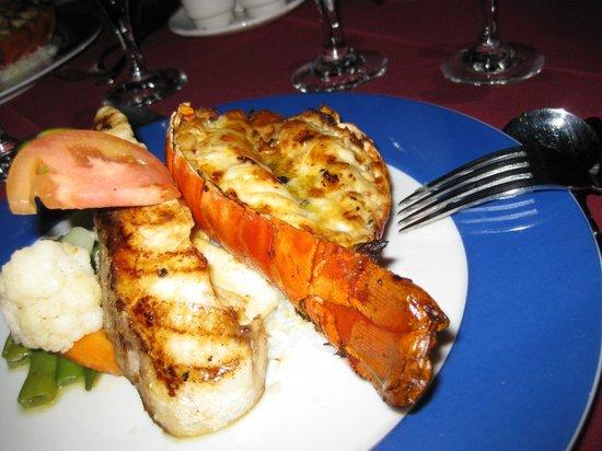 Anantara Medjumbe Island Resort: cena!!