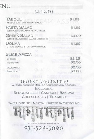 World Foods International Grocery and Delicatessen : Menu Page 3