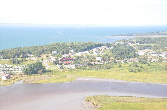 Motel Loupi: vue de la Pointe de Rivière-du-Loup
